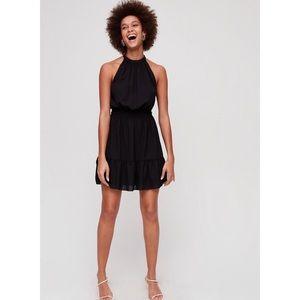 NWT Sold Out Aritzia Effet Mini Dress in Black